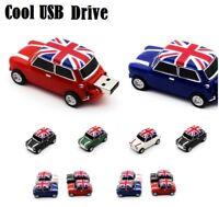 32GB-8GB USB 2.0 Flash Drives mini Car Key Memory Stick Storage Pen Drive Lap