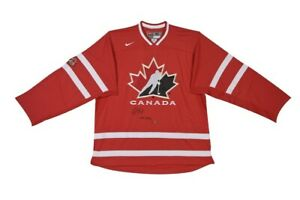 """Sean Couturier Signed Autographed Team Canada Red Jersey """"2011 WJHC"""" #/14 UDA"""