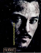 Luke Evans Bard The Bowman The Hobbit Battle of Five Armies  Autograph UACC 96