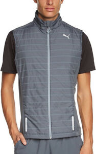 Puma PR Pure NightCat Mens Running Gilet - Grey