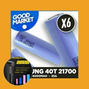 6X  Samsung 40T 21700 4000mAh  Vaping Mod   UK  Within 10 days of local delivery
