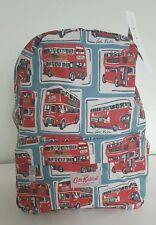 Nuovo di Zecca CATH KIDSTON Zaino in cotone rivestito London Autobus