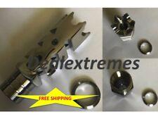 "Stainless Steel Fishbone SHARK 5/8""x24 thread muzzle break for 308, 300 blackout"