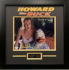 Lea Thompson Ed Gale autographed inscribed framed 8x10 Howard The Duck PSA COA