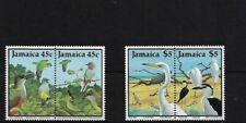 JAMAICA SG707/10, 1988 BIRDS (3RD) MNH