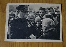 CARTOLINA MILITARE BENITO MUSSOLINI POPOLO 1922 TRIESTE NON VIAGGIATA YY