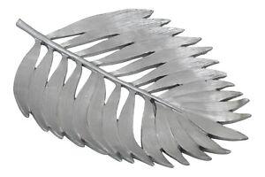 Metallic Leaf Tray Modern Resin Table Ornament Decorative Monster Leaf 28cm