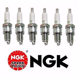 Set of 6 For BMW E24 E28 E30 325i 325is Spark Plug NGK ZGR5A 5077 12129061869