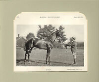 """1896 racing illustrated print mounted ! titled """" marin   """""""
