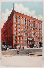 Kansas City Midland Hotel 1908 Series 02 - USA Postcard AK Postkarte (A2429)