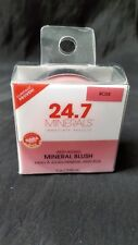 24.7 Minerals Anti-Aging Mineral Blush Color Coral (Set Of 2)