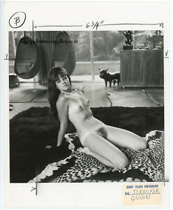 Published Bunny Yeager Photograph 1970s Nude Calisthenics With Jennifer Quinn