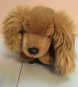 RARE GUND SNIFFER Cocker Spaniel Dog 13 Inch Plush Toy w/tags 1993 VINTAGE HTF