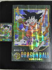 Dragon Ball Wukong Golden Flash Cards 10Pcs Jigsaw Anime Cosplay