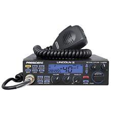 President Lincoln II 10 Meter Amateur Ham Mobile Radio AM/FM/SSB Dual Watch VOX