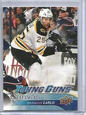 Brandon Carlo 16/17 Upper Deck Young Guns Canvas Rookie (#C97)