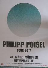 Philipp Poisel - Tourposter/Tourplakat 2017 - München