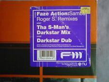 "Faze Action  ~ Samba Roger Sanchez Remixes Roger S Darkstar [ F111 ] House 12"""