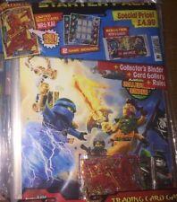 NINJAGO LEGO TRADING CARDS 1° SERIE - STARTING PACK - NEW