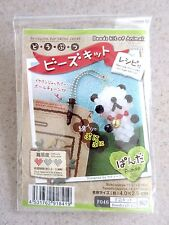 NEW Beading Kit for Panda Charm w/ Earphone Jack Plug & Chain from Japan