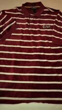 """Men's ECKO Unlimited Maroon White Velvety Casual """"The Grand P"""" Polo Shirt"""