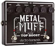 Electro-Harmonix Metal Muff with Top Boost - free shipping