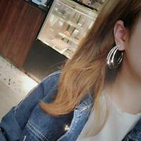 Elegant Hoops Crystal Stud Dangle Ear Jewelry Earrings Lady Women Hook Gifts