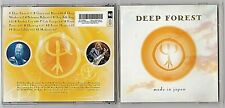 DEEP FOREST, MADE IN JAPAN, NEW AGE WORLD MUSIC, CD 1999