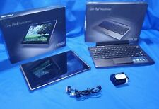 """Asus Transformer TF101 Eee Pad Tablet 10.1"""" with Keyboard Docking Station"""