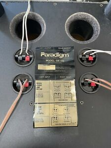 "Paradigm Passive subwoofer sb100 Working 10"" Woofer"