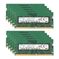 For Samsung 4GB 1RX8 DDR4 2133P 2133Mhz PC4-17000 RAM SO-DIMM Laptop Memory LOT