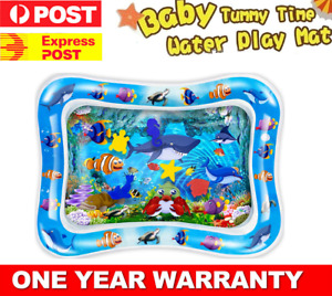 Upgraded Inflatable Infant Baby Water Play Mat for Boy & Girl Brain Development