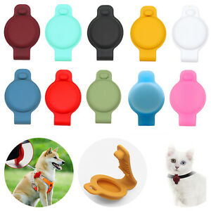 Pet Silicone Protective Case for Apple Airtag GPS Finder Dog Cat Collar Loop