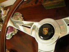 """Porsche 356 C Steering Wheel Wood 39 cm 15.3"""" NOS NEW"""