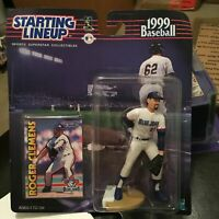 F44 1999 ROGER CLEMENS BLUE JAYS Starting Line Up NIB FREE SHIPPING
