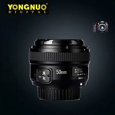 Yongnuo YN50mm f/1.8 Large Aperture MF AF Auto Focus Prime Lens For Nikon DSLR