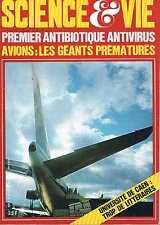 Science Et Vie   N°642  mars 1971:Premier antibiotique antivirus Googols Antimat