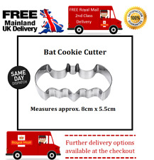 Halloween Bat cookie cutter suitable for sugar craft, fondant, biscuits