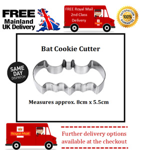 Batman Inspired cookie cutter suitable for sugar craft, fondant, biscuits