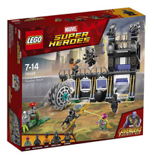 LEGO Marvel Super 76103 Corvus Glaive Thresher Attack NIB Factory Sealed