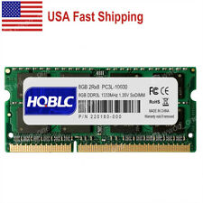 US 8GB PC3L-10600S DDR3L 1333MHz Laptop Memory For Macbook Pro 13In 15In 2011