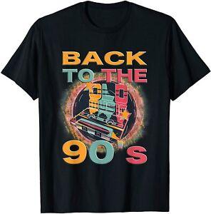 Neu 90er Jahre Party Outfit Kostüm Premium Geschenk Tee T-Shirt