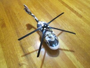 """US Army plastic toy helicopter about 9"""" long as is"""