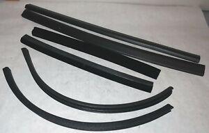 Maserati Biturbo Spyder CONVERTIBLE TOP WEATHERSTRIP Seal Set  6 pieces