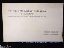 1944 Brochure Program THE OKLAHOMA INTERNATIONAL SALON OF PHOTOGRAPHY