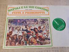 Napoli E Le Sue Canzoni 1835-1899 - Festa A Piedigrotta - LP