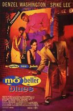 Mo' Better Blues Movie POSTER 27 x 40 Denzel Washington Spike Lee C LICENSED NEW