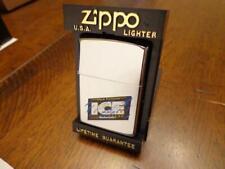 Retired Budweiser Ice Draft Zippo Lighter