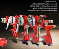 Valise 4 pistolets SATA 5000 B RP et HVLP / 4400 B HVLP / 100 B F RP