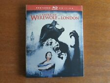 AN AMERICAN WEREWOLF IN LONDON. BLU-RAY REGION A/1 SLIPCASED RESTORED EDITION.